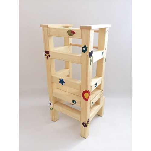 Malba na učící věž - Louka 1