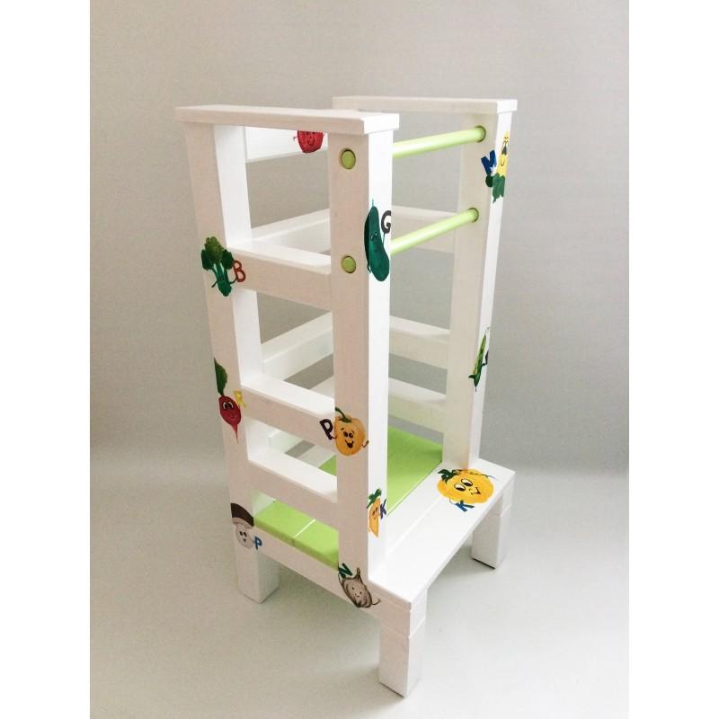 Malba na učící věž - Zelenina