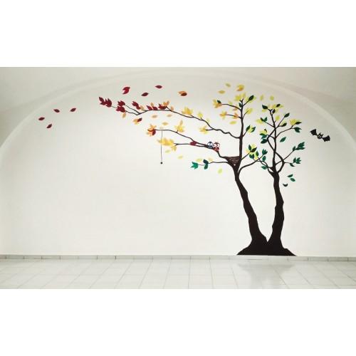Malba na zeď pro Hračky a My
