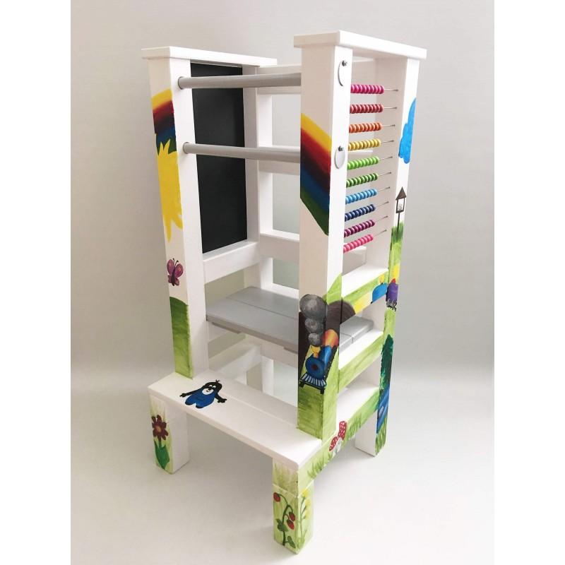 Malba na učící věž - Přiroda
