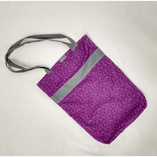 Bavlněná taška Violet flower